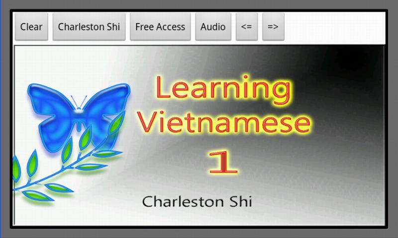 Learning Vietnamese 1 - screenshot