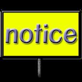 notice board free