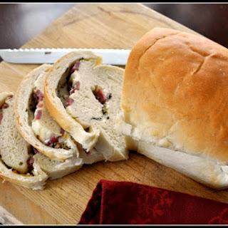 Salami Swirl Bread.