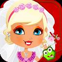 Dress up Bride mobile app icon