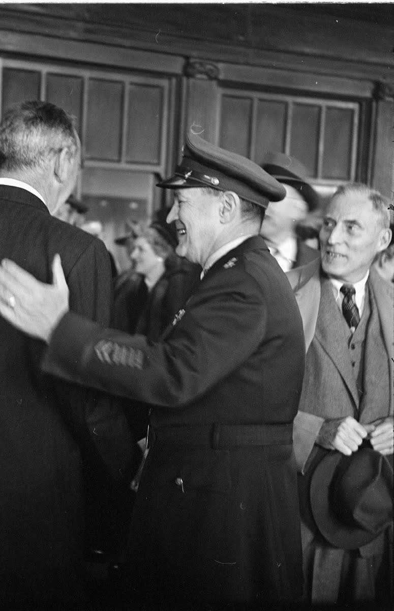Truman Arrives In Washington, Day After Election