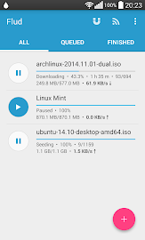 Flud - Torrent Downloader Screenshot 1