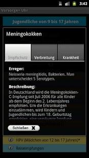 Vorsorge+ Uhr- screenshot thumbnail