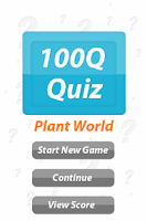 Screenshot of Plant World - 100Q Quiz