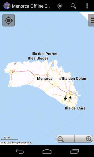 Minorca Offline City Map Lite