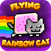 Flying Rainbow Cat