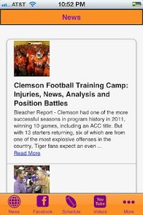 Clemson Football - screenshot thumbnail