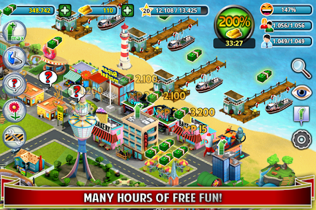 City Island ™: Builder Tycoon 3.3.3 MOD (Unlimited Cash/Gold) 3