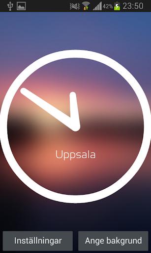 OM Minimalistic Clock