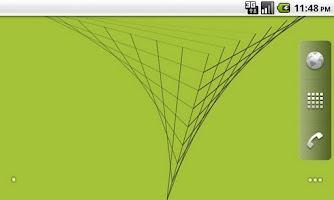 Screenshot of Liner Live Wallpaper