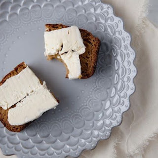 Pumpkin Bread with Brie.