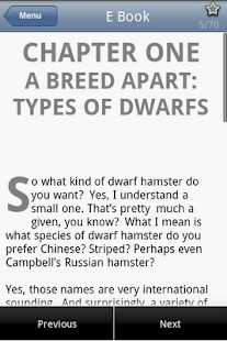 Dwarf Hamster Care - screenshot thumbnail