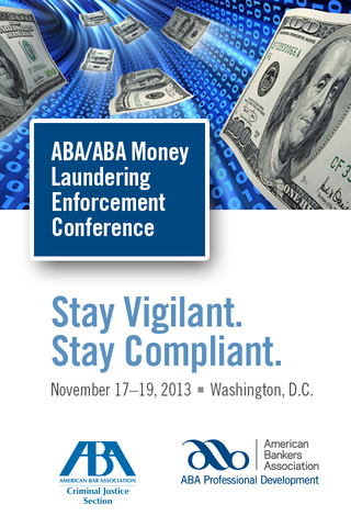 2013 ABA Money Laundering
