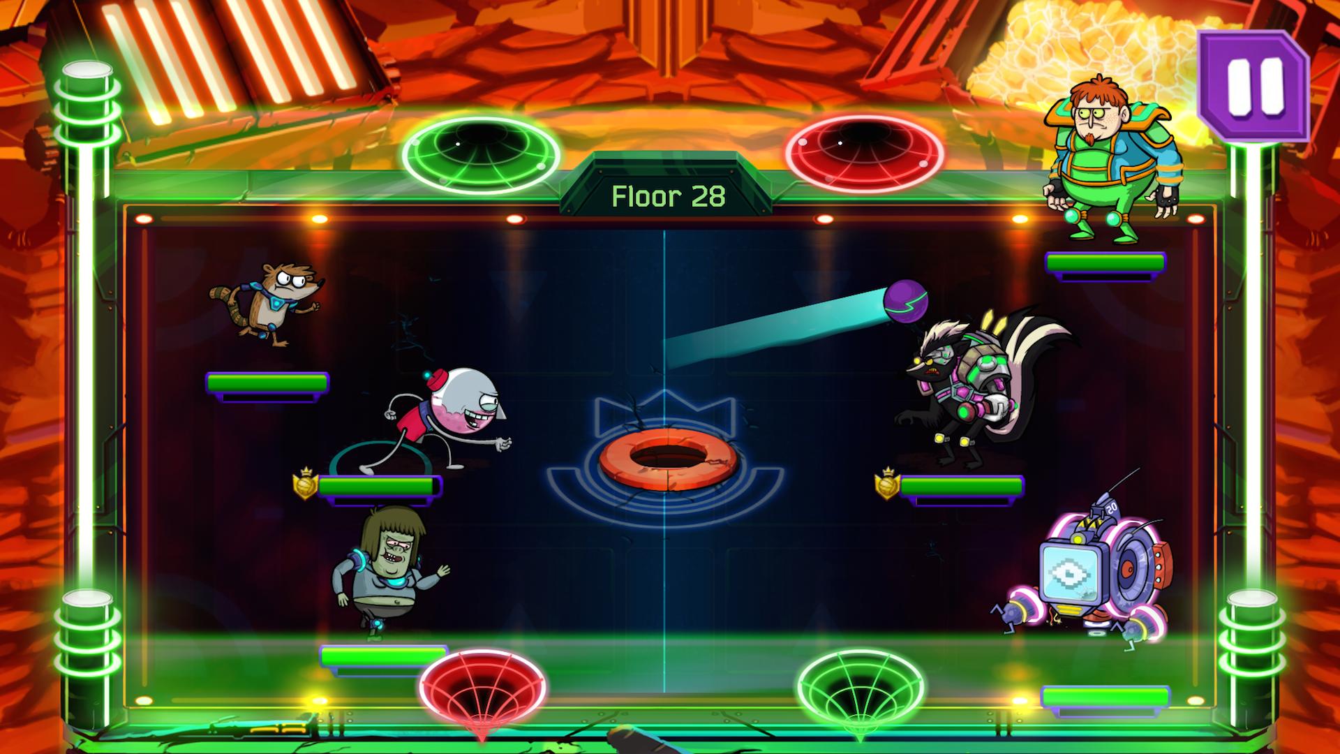 Grudgeball - Regular Show screenshot #8