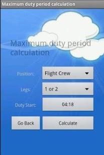 Crew Duty Period - screenshot thumbnail