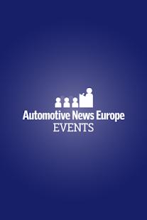 Auto News Europe Events - screenshot thumbnail