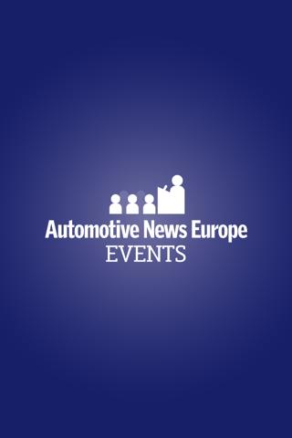 Auto News Europe Events - screenshot