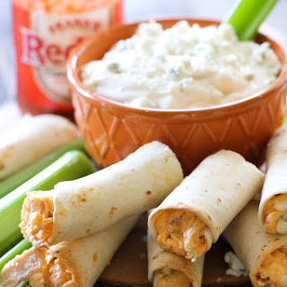 Buffalo Chicken Taquitos.