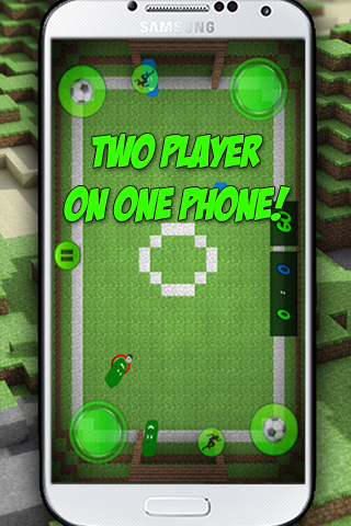 Pocket Block Soccer- screenshot