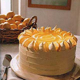 Lemon Curd Layer Cake.