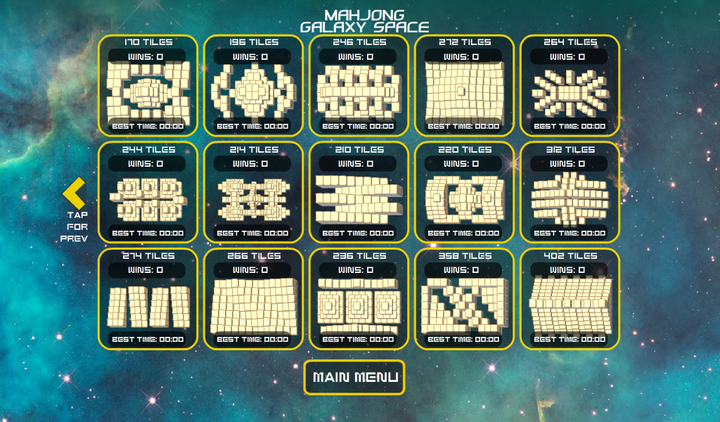 Mahjong Galaxy Space Lite-Free- screenshot
