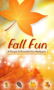 Fun Fall Live Wallpaper (2012) - screenshot thumbnail