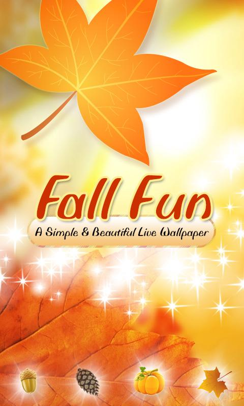 Fun Fall Live Wallpaper (2012)- screenshot