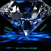 Cyan Diamond (uccw skin/theme)