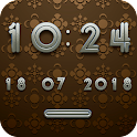 LOUNGE Digital Clock Widget