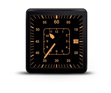 Aviation Watch Face for Wear - screenshot thumbnail