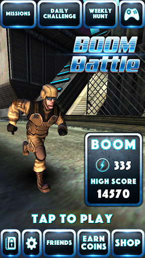 Boom Battle: Commander Dash