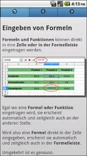 Basiskurs OpenOffice Calc - screenshot thumbnail