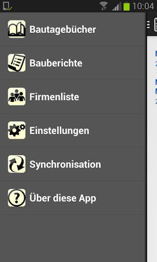 Bauskript Bautagebuch App