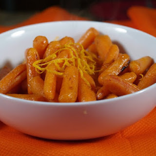 Sweet-Orange Roasted Baby Carrots.