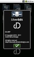 Screenshot of SilverEdit