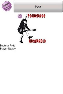 Player Powerage Webradio - screenshot thumbnail
