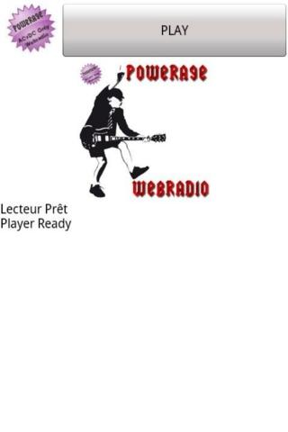 Player Powerage Webradio - screenshot