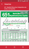 Screenshot of InterUrbanos Madrid Bus EMT