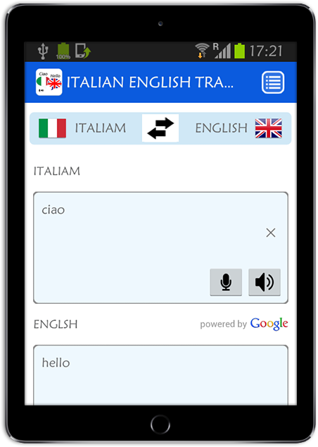 English To Italian Translator Google: English To Translation Italian