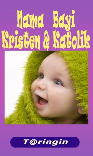 Nama Bayi Kristen Katolik