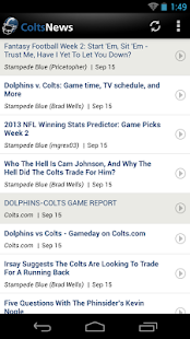 Colts News - screenshot thumbnail