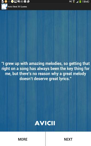 Avicii Best 20 Quotes