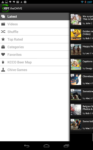 Screenshot 6 for theCHIVE's Android app'