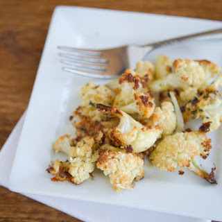 Roasted Parmesan Cauliflower.