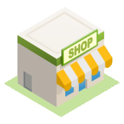 お店のお手伝いさん 商業 LOGO-玩APPs
