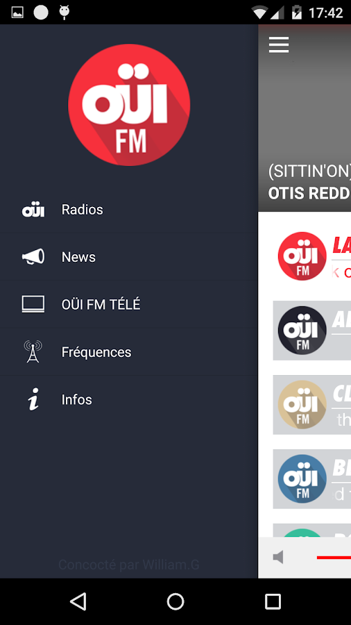OUI FM - Radio Rock- screenshot