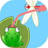 Puzzle Frog Dragon Fly Eater