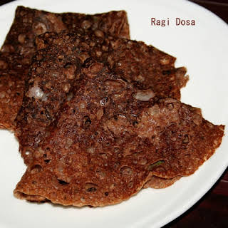 Instant Ragi Dosa or Millet Dosa.