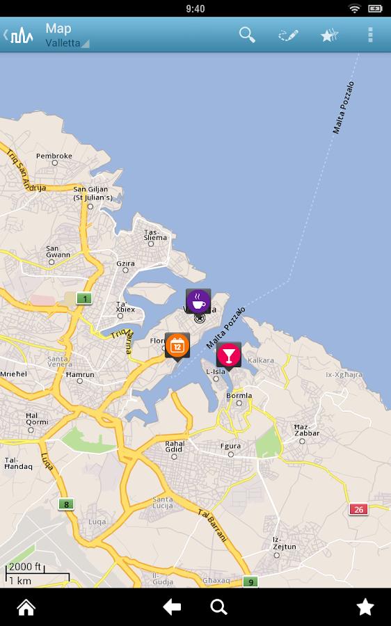 Malta Travel Guide by Triposo