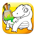 Coloring Reptiles Games icon